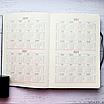 Ежедневник недатированный А5, 136 листов Ripple, искусственная кожа, цветной срез, фото 4