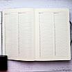 Ежедневник недатированный А5, 136 листов Ripple, искусственная кожа, цветной срез, фото 8