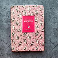 """Удобные женские планеры """"Flowery"""" (А5) в корейском стиле, Цветущая вишня"""