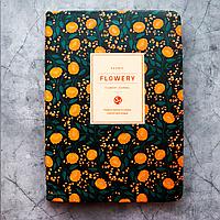 """Удобные женские планеры """"Flowery"""" (А5) в корейском стиле, Цветок Адонис"""