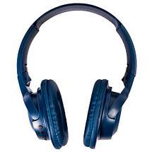 Bluetooth-наушники беспроводные Wireless MX555 (Серый с жёлтым), фото 2