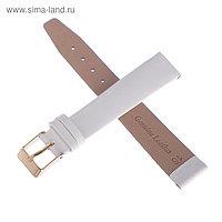 Ремешок для часов, мужской, 16 мм, белый
