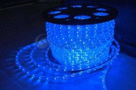 Светодиодный дюралайт 24 диода в метре, бухта 100 метров, цвет синий