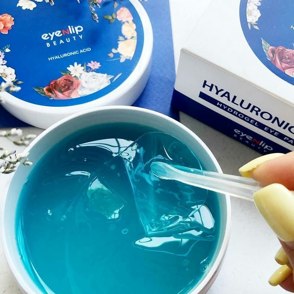 Гидрогелевые патчи Eyenlip  Hyaluronic Acid Hydrogel Eye Patch