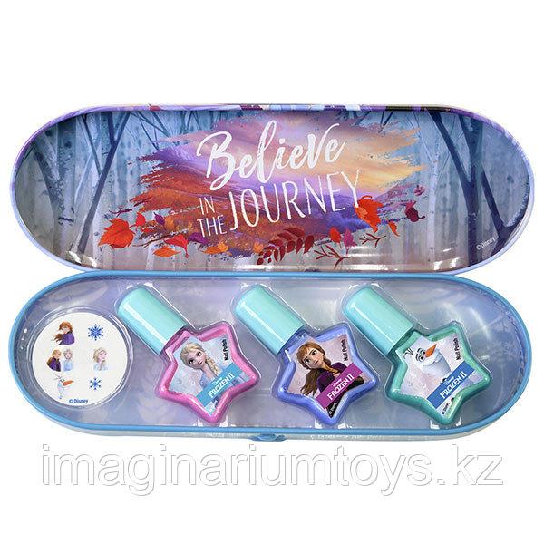 Детская косметика набор лаков для ногтей Frozen 2