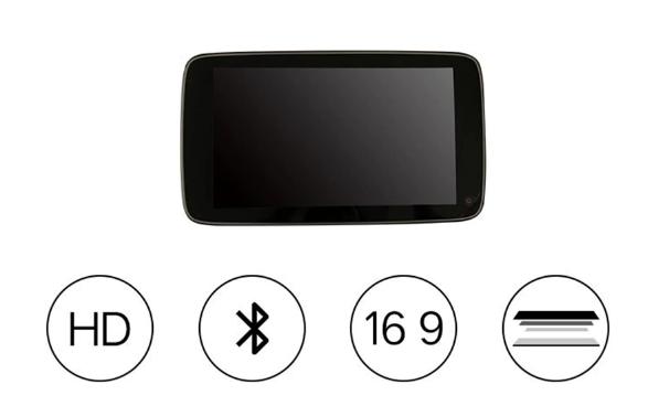 Монитор на подголовники для задних пассажиров Android