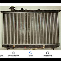 Радиатор охлаждения Hyundai Sonata EF