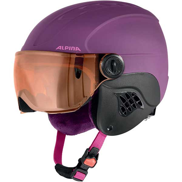 Alpina  шлем горнолыжный Carat L.E. Visor HM