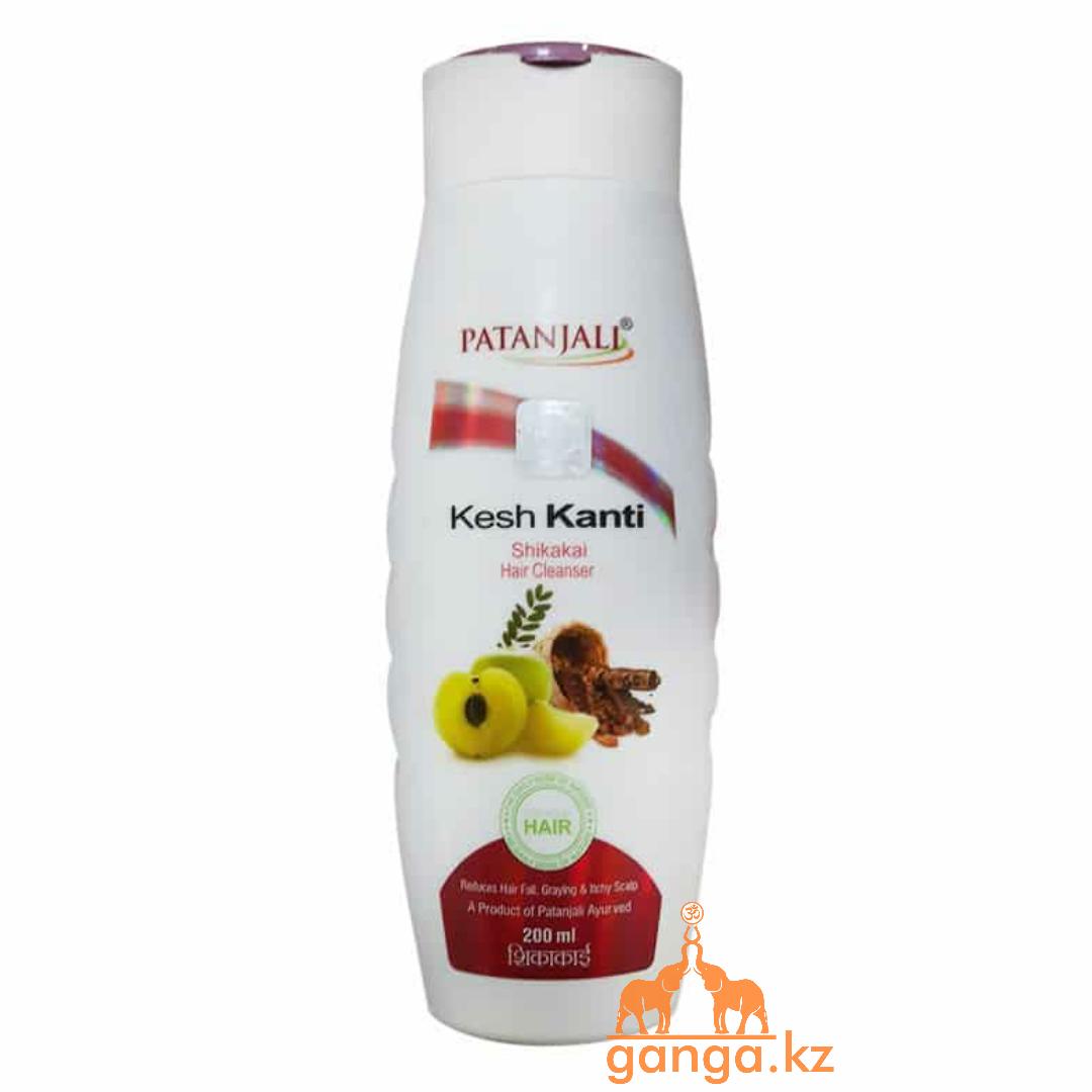 Шампунь Кеш Канти Шикакай (Kesh Kanti Shikakai Hair Cleanser PATANJALI), 200мл