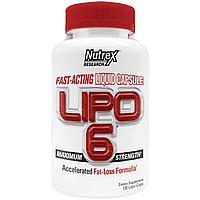 Жиросжигатель Nutrex Research Lipo-6 120 капсул, фото 1