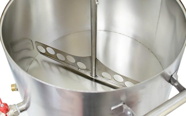 """Мешалка """"Maggio Pro"""" — автоматическая, с регулятором скорости и реверсом для приготовления элитных сыров"""