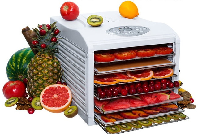 Сушит все овощи и фрукты в больших объемах