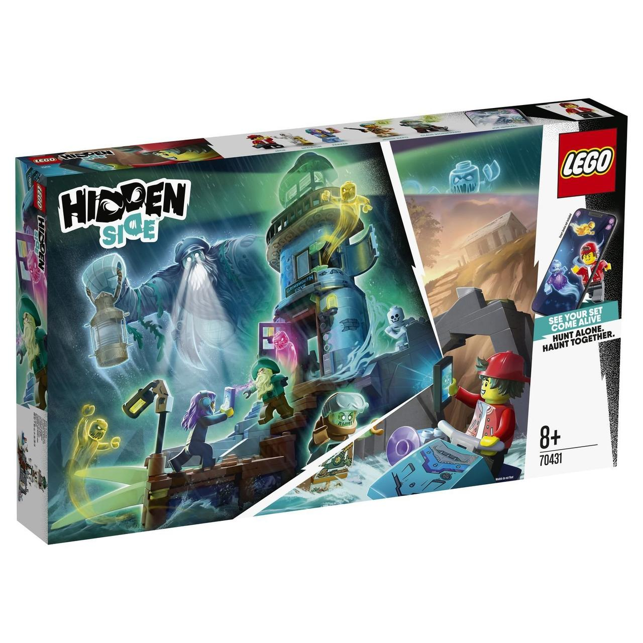 70431 Lego Hidden Side Маяк тьмы, Лего Хидден Сайд