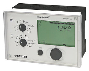 Регулятор температуры электронный двухконтурный EQJW 126