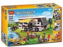 """Конструктор Decool 3117 Architect (аналог лего Lego Creator 31052) """"Кемпинг 3 в 1"""" 792 дет"""