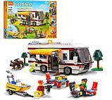 """Конструктор Decool 3117 Architect (аналог лего Lego Creator 31052) """"Кемпинг 3 в 1"""" 792 дет, фото 8"""