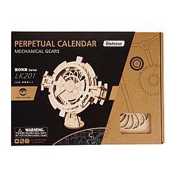 Robotime Деревянный 3D конструктор Вечный Календарь