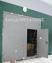"""Ворота противопожарные EI60 """"Завод МЕТАЛИКС"""""""