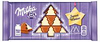 Шоколад Milka Sweet Winter (Alpine Milk and White Chocolate) (100 грамм)