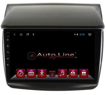 ANDROID 8.1.0 Mitsubishi L200 HD ЭКРАН 1024-600 ПРОЦЕССОР 4 ЯДРА (QUAD CORE)