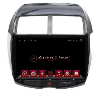 ANDROID 8.1.0 Mitsubishi ASX HD HD ЭКРАН 1024-600 ПРОЦЕССОР 8 ЯДЕР (OCTA CORE), фото 2