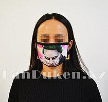 Защитная маска респиратор от пыли и холода Джокер