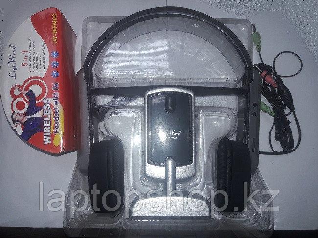 Наушники LightWave (headset) LW-FM02 with FM wireless