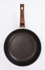 """Сковорода 280мм со съемной ручкой, АП линия """"Granit ultra"""" (Original) сго282а, фото 2"""