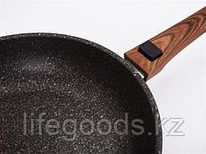 """Сковорода 280мм со съемной ручкой, АП линия """"Granit ultra"""" (Original) сго282а, фото 3"""