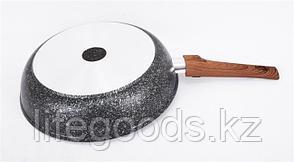 "Сковорода 260мм со съемной ручкой, АП линия ""Granit ultra"" (Green) сгз262а, фото 2"