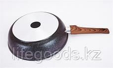 "Сковорода 260мм со съемной ручкой, АП линия ""Granit ultra"" (Blue) сгг262а, фото 3"
