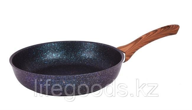 """Сковорода 260мм с ручкой, АП линия """"Granit Ultra"""" (Blue) сгг260а"""