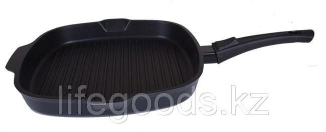 Сковорода-гриль квадратная 280х280мм со съемной ручкой, АП сгк281а