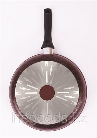 "Сковорода 280мм с ручкой, АП линия ""Granit Ultra Induction"" (Red) сгаи280а"