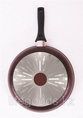 "Сковорода 280мм с ручкой, АП линия ""Granit Ultra Induction"" (Red) сгаи280а, фото 2"