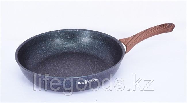 """Сковорода 280мм с ручкой, АП линия """"Granit Ultra Induction"""" (Blue) сгги280а"""