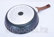 "Сковорода 280мм с ручкой, АП линия ""Granit Ultra Induction"" (Blue) сгги280а, фото 3"