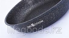 """Сковорода 260мм с ручкой, АП линия """"Granit Ultra Induction"""" (Original) сгои260а, фото 3"""