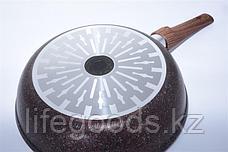 "Сковорода 240мм со съемной ручкой, АП линия ""Granit Ultra Induction"" (Red) сгаи242а, фото 3"