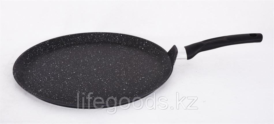 Сковорода-лавашница 350мм, АП (темный мрамор) слмт350а