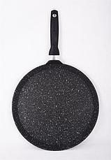 Сковорода-лавашница 350мм, АП (темный мрамор) слмт350а, фото 2