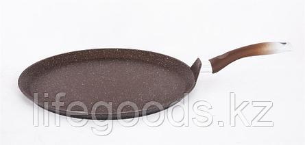 Сковорода-лавашница 350мм, АП (кофейный мрамор) слмк350а, фото 2