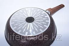"Сковорода 260мм со съемной ручкой, АП линия ""Granit Ultra Induction"" (Red) сгаи262а, фото 2"