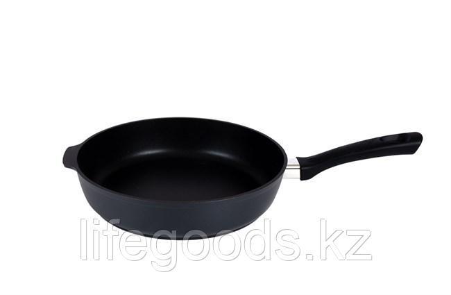 Сковорода 280/65мм  с антипригарным покрытием, с ручкой с281а