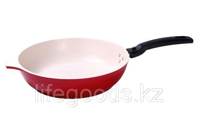 Сковорода 260/60 мм с  антипригарным покрытием, со съемной ручкой с261м