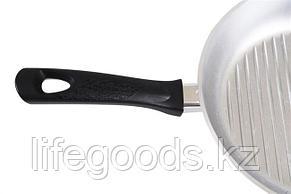 Сковорода-гриль 260/60 мм с ручкой сгр260, фото 2