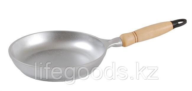 Сковорода 200/40 мм с деревянной ручкой с200