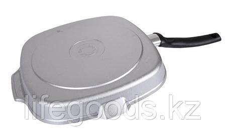 Сковорода-гриль квадратная 260х260мм с ручкой сгк260, фото 2
