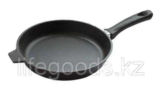 Сковорода литая чугунная 260/40мм с бакелитовой ручкой б6040, фото 2