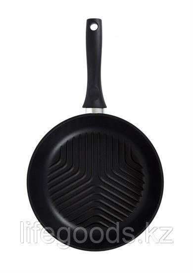 Сковорода-гриль 260мм с антипригарным покрытием. сгр260а